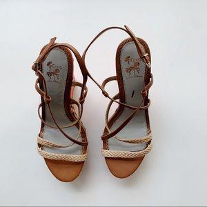 Sam Edelman Shoes - Sam Edelman Circus Collection Neon Capri Wedges 9M